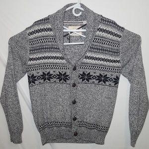 WeatherProof Vintage 5 Button Christmas Sweater S